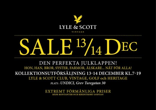 Lyle & Scott Sale