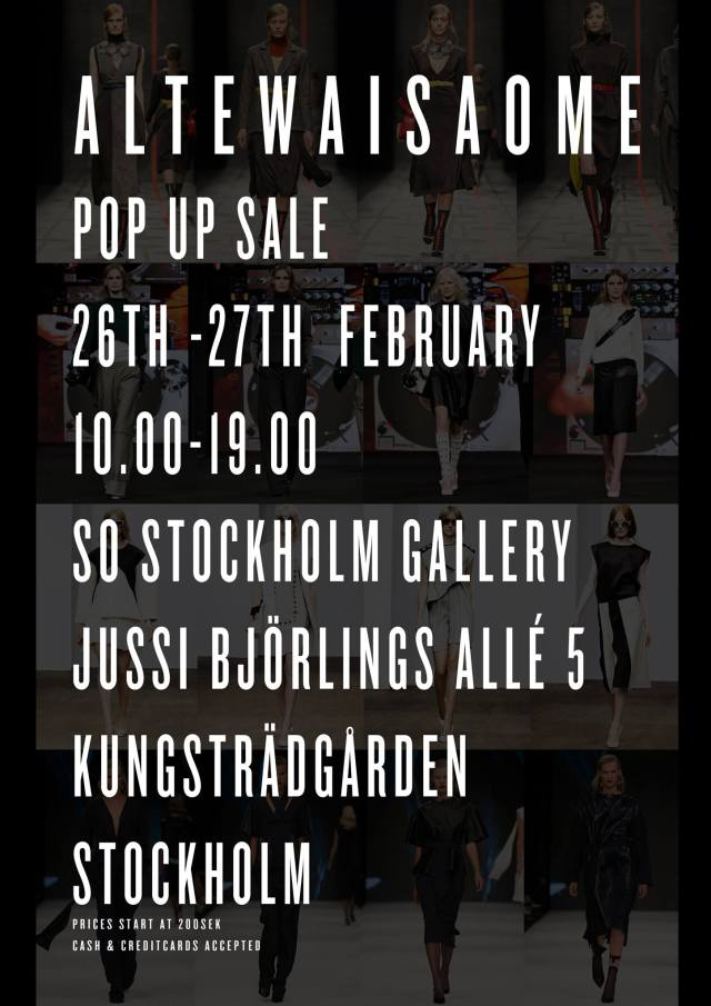 AltewaiSaome pop up sale