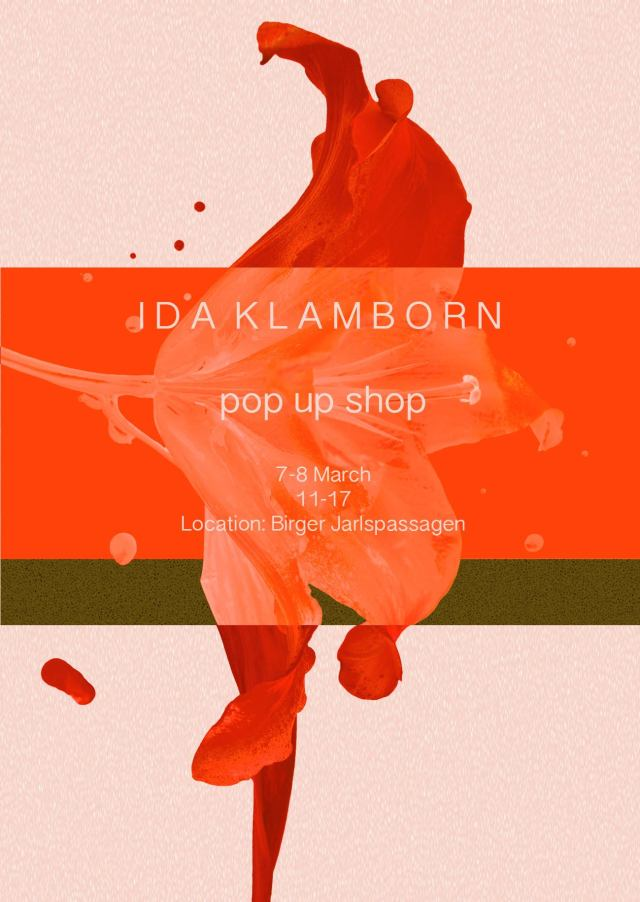 Ida Klamborn Pop Up