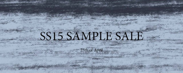 Whyred SS15 Sample Sale