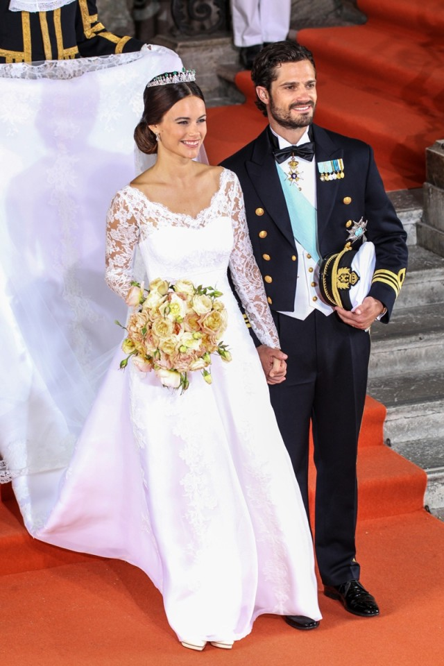 Carl Philip Sofia wedding 1