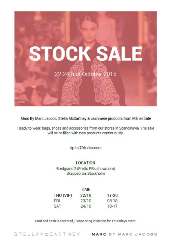Pretto Stock Sales
