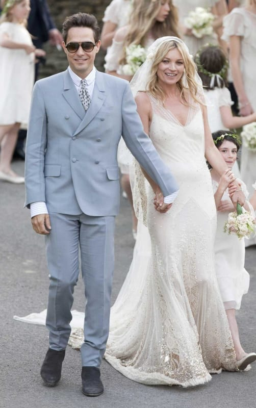 Kate Moss wedding dress by John Galliano