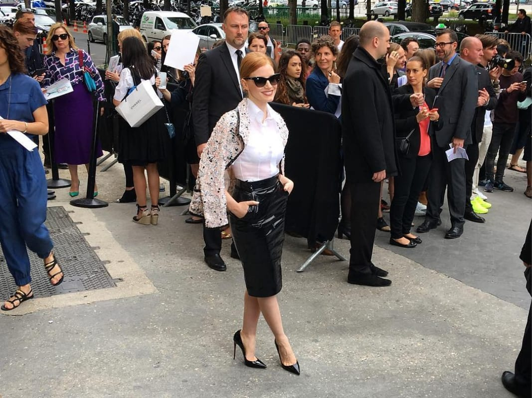 Chanel Couture 3 jessica chastain