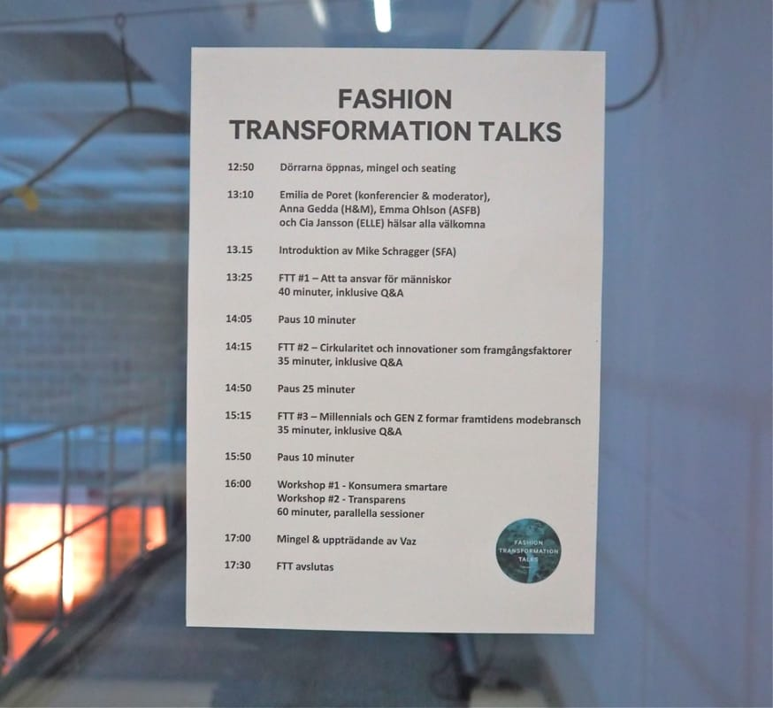 Fashion Tranformation Talks